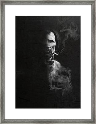 Portrait Of Tom Crean Antarctic Explorer Framed Print
