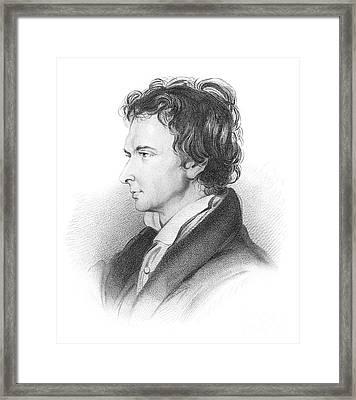 Portrait Of William Hazlitt Framed Print