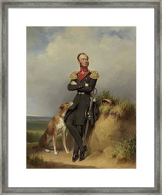 Portrait Of William II - King Of The Netherlands Framed Print