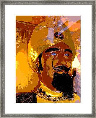 Portrait Of Zoltar Framed Print by Ed Weidman