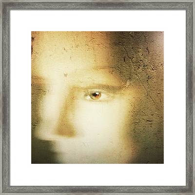 Portrait In Thoughts  Framed Print