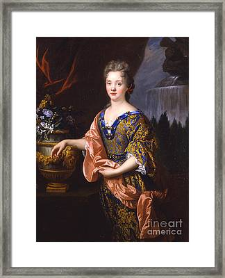 Portraits Of An Elegant Woman Framed Print by Celestial Images