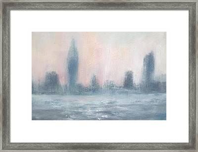 Portsmouth Dawn Part Five Framed Print by Alan Daysh