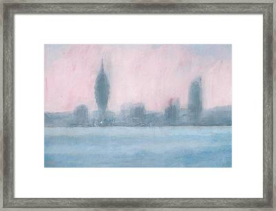Portsmouth Dawn Part Six Framed Print by Alan Daysh