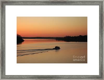 Portsmouth Harbor - Portsmouth New Hamphire Usa Framed Print by Erin Paul Donovan