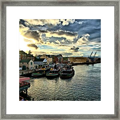 Portsmouth Harbor 2 Framed Print Can Be Seen On Set Of Abcs Desperate Housewives Framed Print