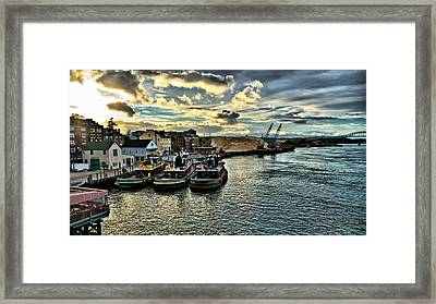 Portsmouth Harbor Framed Print