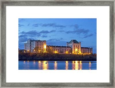 Portsmouth Naval Prison Framed Print