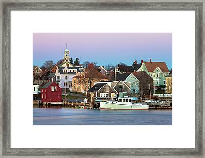 Portsmouth South End Framed Print by Eric Gendron