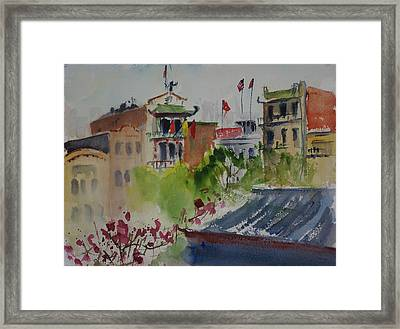 Portsmouth Square1 Framed Print