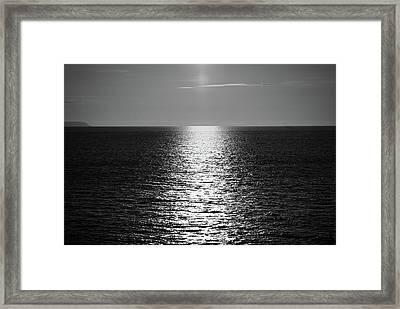 Portstewart Sunset Framed Print