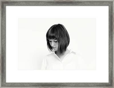 Porttrait #5451 Framed Print