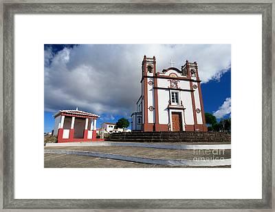 Portuguese Church Framed Print by Gaspar Avila