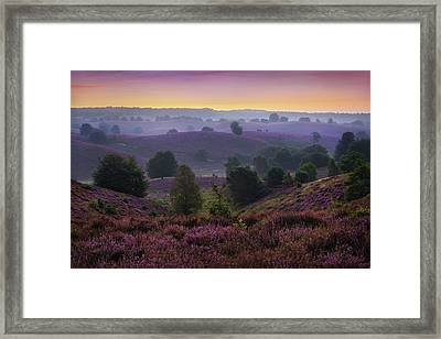 Posbank Sunrise Framed Print
