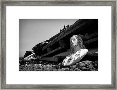 Pose Framed Print by Kevin Brett