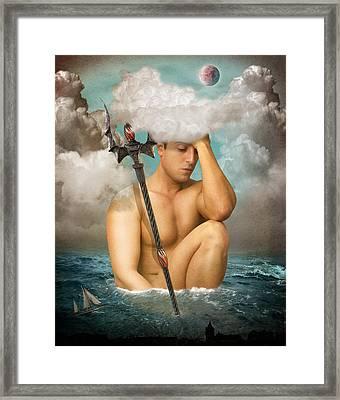 Poseidon 2 Framed Print
