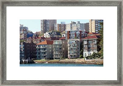 Framed Print featuring the photograph Posh Burbs by Stephen Mitchell