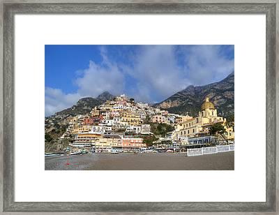 Positano - Amalfi Coast Framed Print