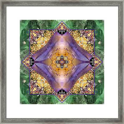 Positive Balance Framed Print by Bell And Todd