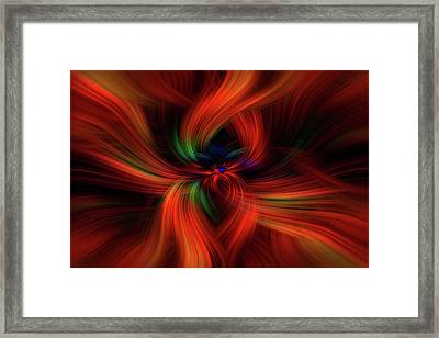 Positive Creativity. Mystery Of Colors   Framed Print by Jenny Rainbow