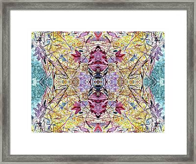 Positive Momentum Framed Print