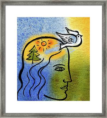 Positive Outlook Framed Print