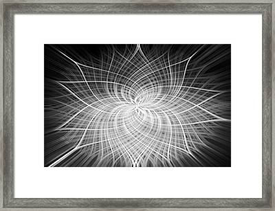 Positivity Framed Print by Carolyn Marshall