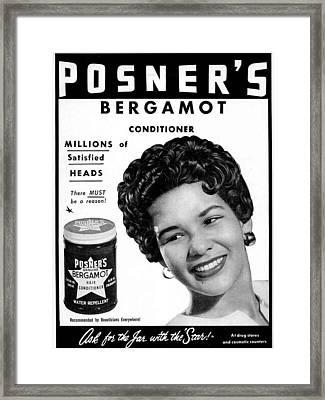 Posner's Bergamont Framed Print