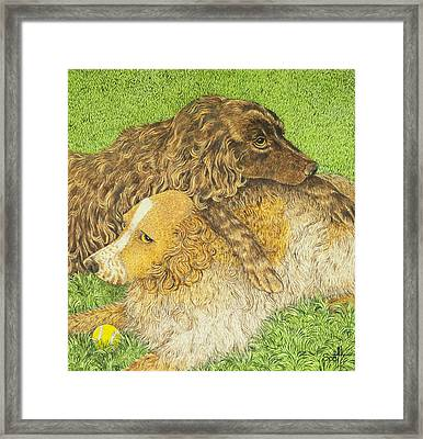 Possession Framed Print by Pat Scott