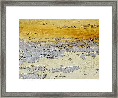 Possum Abstract Landscape 3 Framed Print