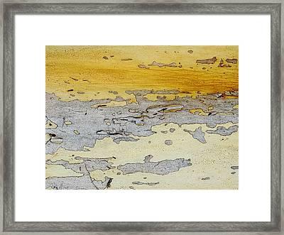 Possum Abstract Landscape 3 Framed Print