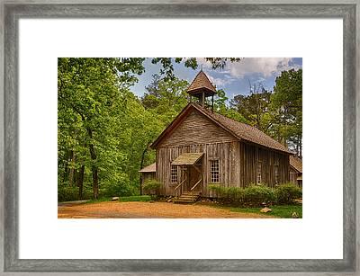 Possum Trot Church Framed Print