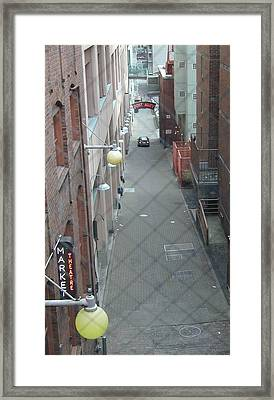Post Alley Framed Print by Rick Repp