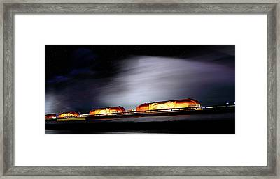Framed Print featuring the photograph Post-apocalyptic Cityscape - Science Fiction - Scifi by Jason Politte