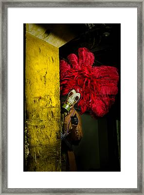 Post Apocalyptic Showgirl Framed Print by Kelly Anderson