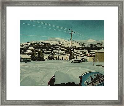 Post Hill Framed Print