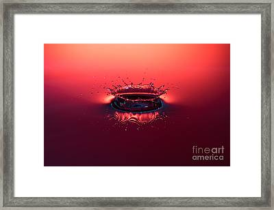Post Impact Framed Print