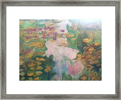 Framed Print featuring the painting Post-impressionsism by Janelle Dey