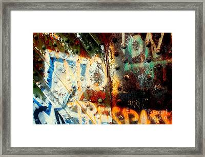 Post Industrial Framed Print by Farzali Babekhan