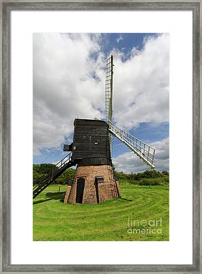 Post Mill Windmill Framed Print by Steev Stamford