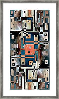 Post Modern Woman Continuum Ten Framed Print by Jack Dillhunt