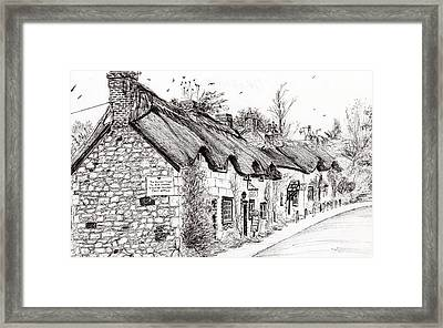 Post Office And Museum Framed Print by Vincent Alexander Booth