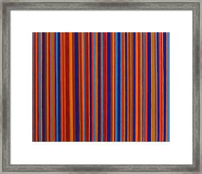 Post Pictura Framed Print by Oliver Johnston