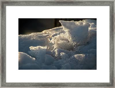 Post Plow - Framed Print
