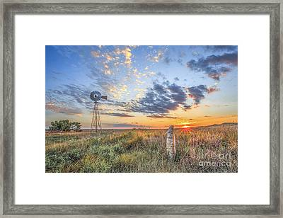 Post Rock Country Framed Print