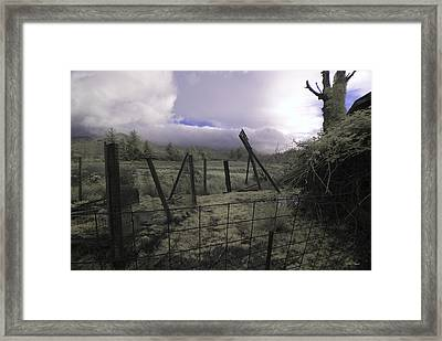 Framed Print featuring the photograph Post Storm by Chriss Pagani