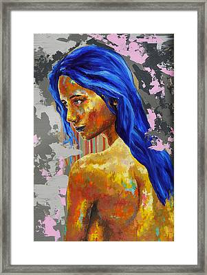 Post Synthetique II Framed Print by Bazevian