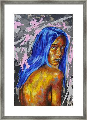 Post Synthetique IIi Framed Print by Bazevian