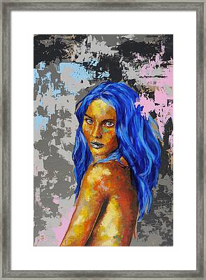 Post Synthetique Iv Framed Print by Bazevian