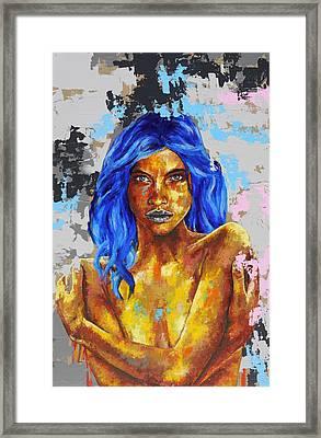 Post Synthetique V Framed Print by Bazevian